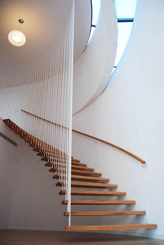 suspendidas escalera
